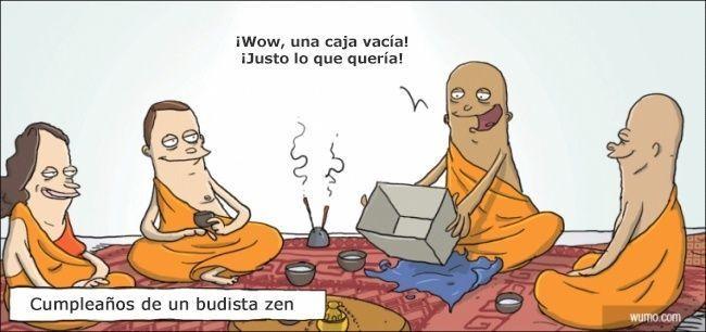 Cumpleaños de un budista zen