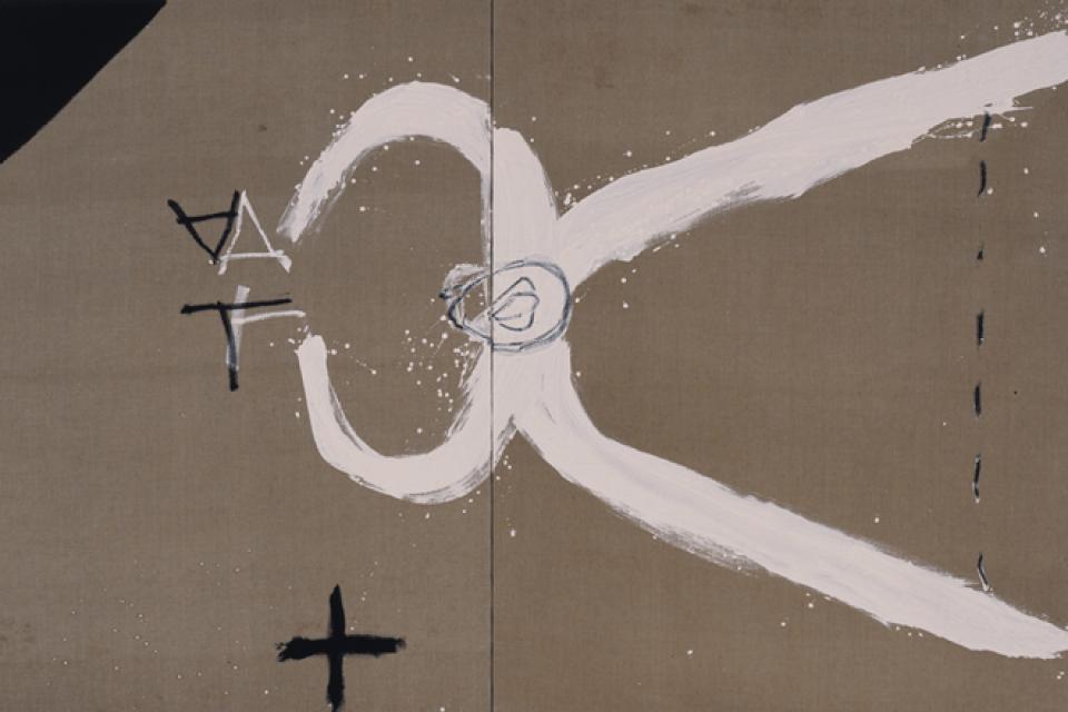 Pintura de Antoni Tàpies