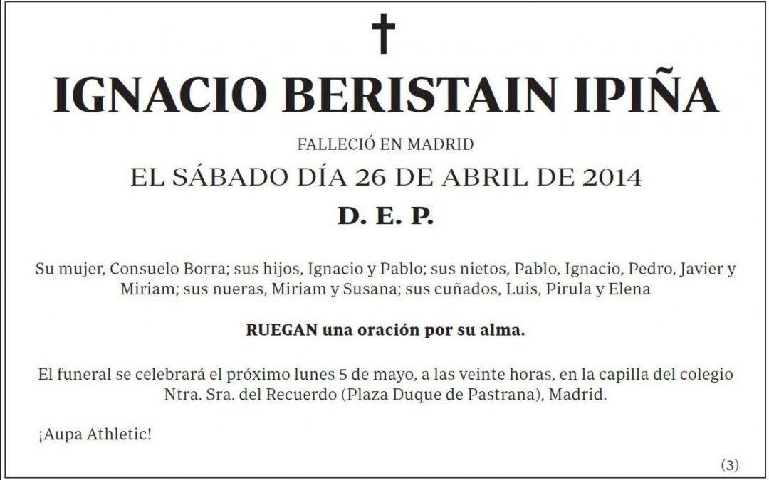 Ignacio Beristain
