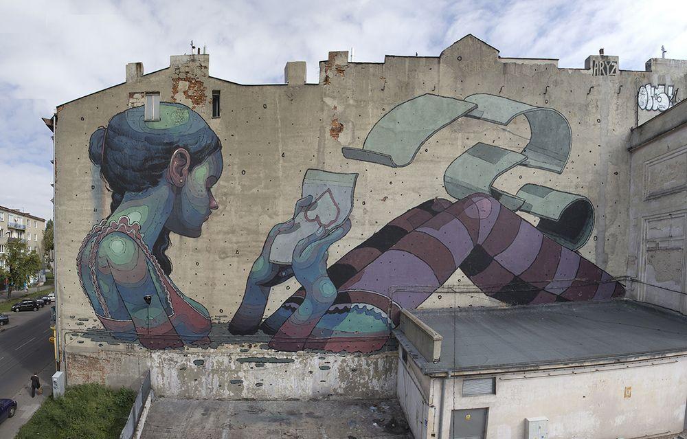 Art Street de Aryz