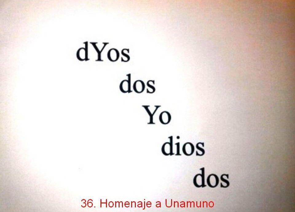 Poesía Visual de Atilano Sevillano
