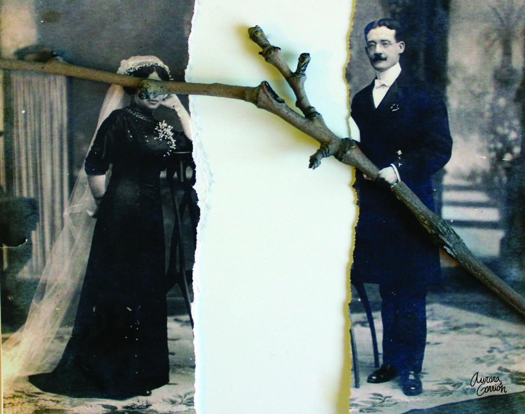 Aurora Gorrión, poeta visual