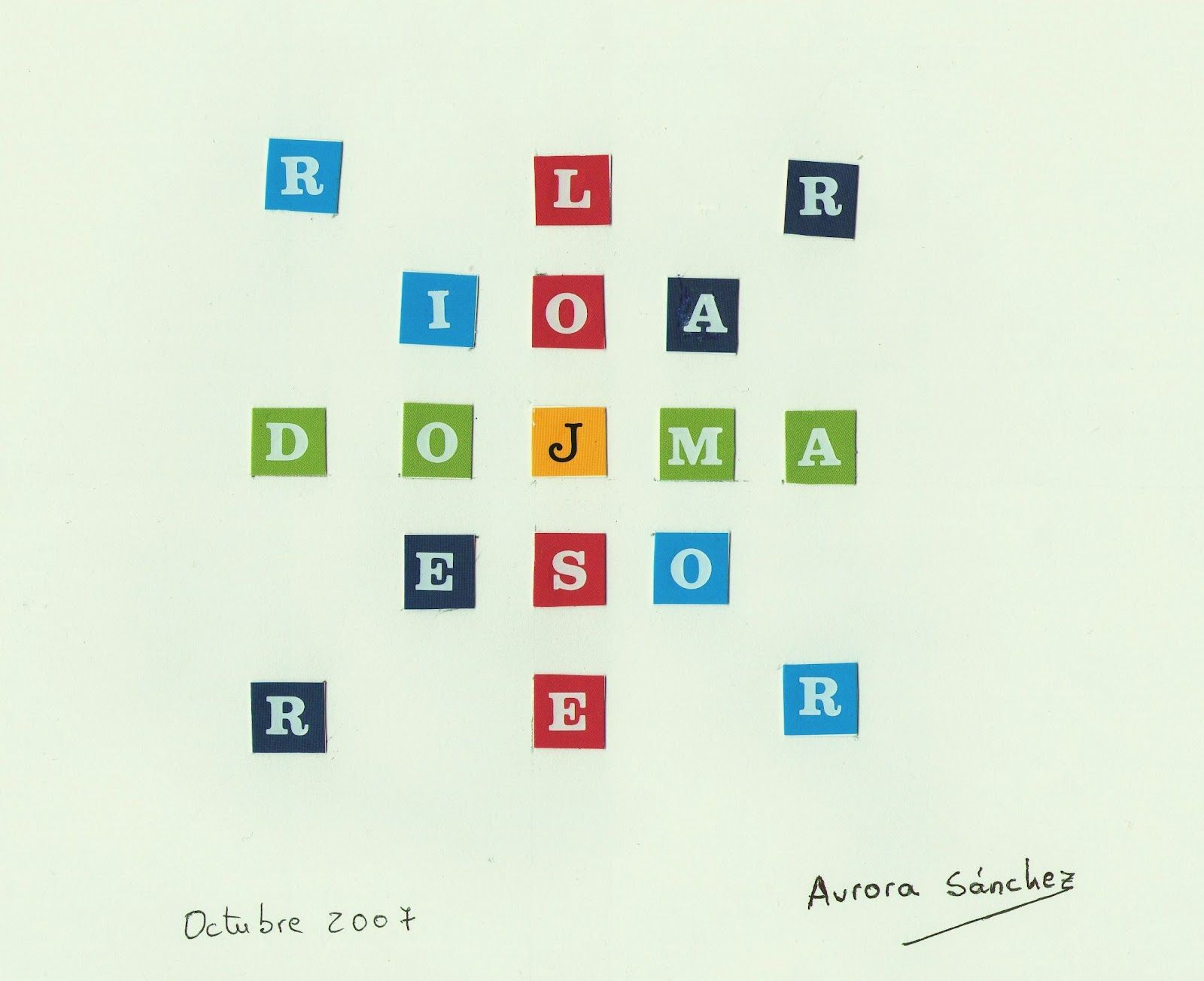 Auro (Aurora Sánchez Fernández), poeta visual