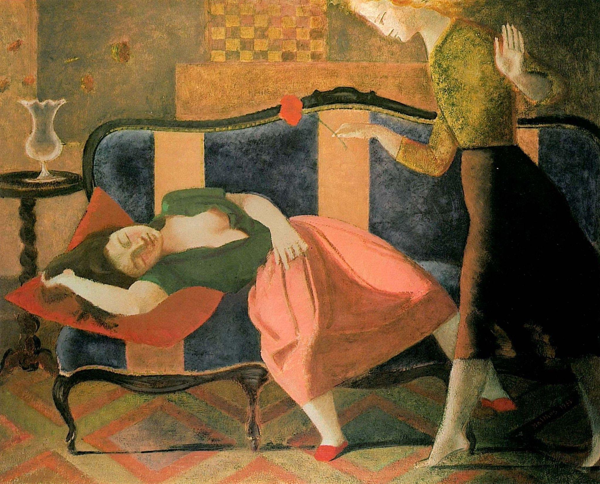 Balthus (Balthasar Kłossowski de Rola), París, 1908-2001