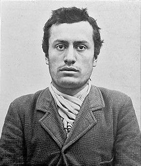 Benito Mussolini joven