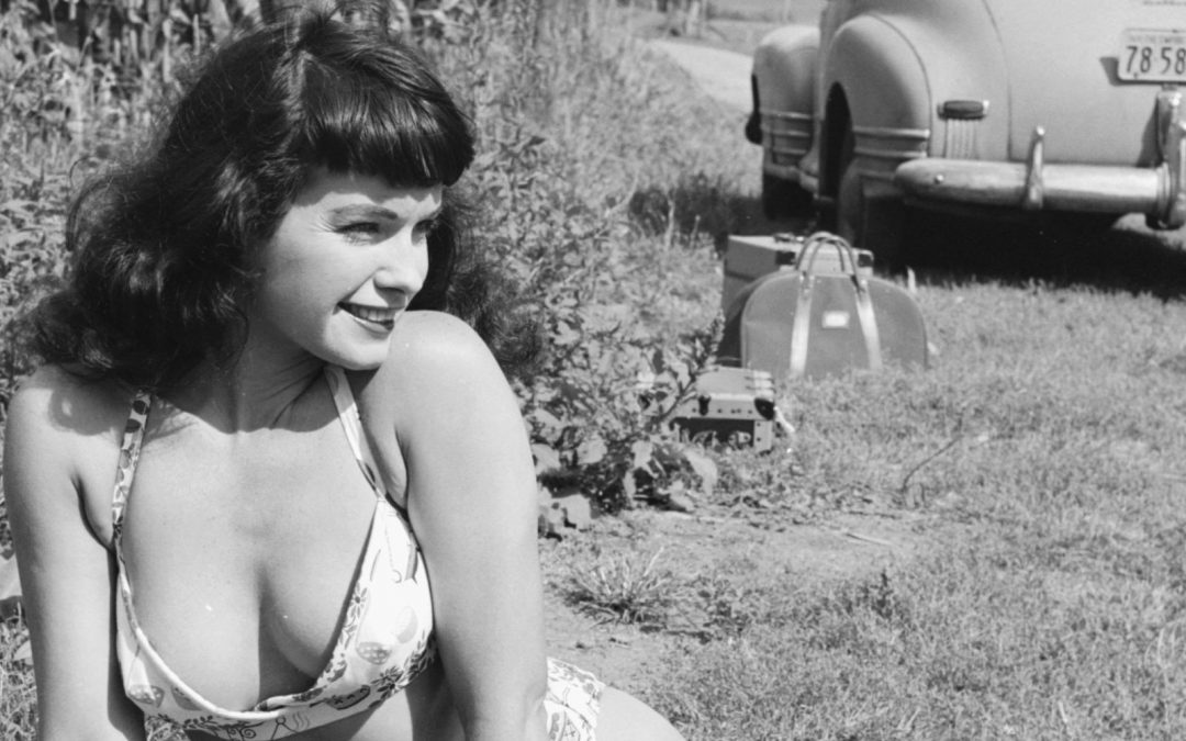 Bettie Page, Pin-up