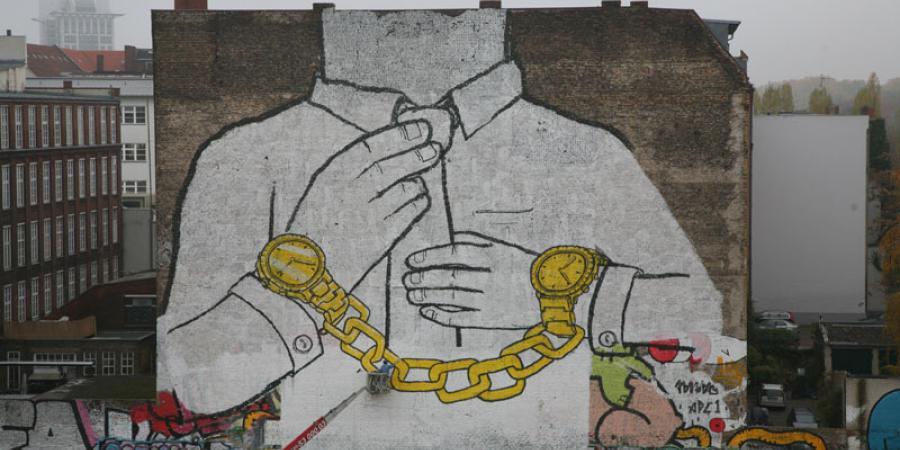 Arte callejero. Mural de Blu