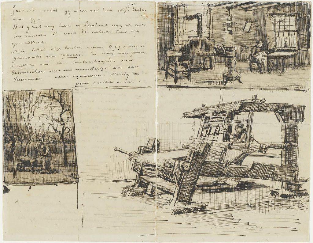 Bocetos de Vincent van Gogh