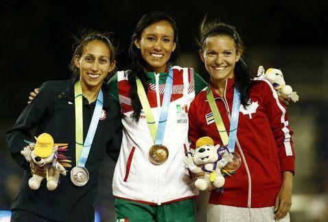 Brenda Flores gana los 10.000m en los Juegos Panamericanos de 2015