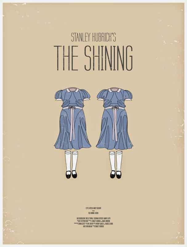 Carteles de artistas para El Resplandor de Stanley Kubrick