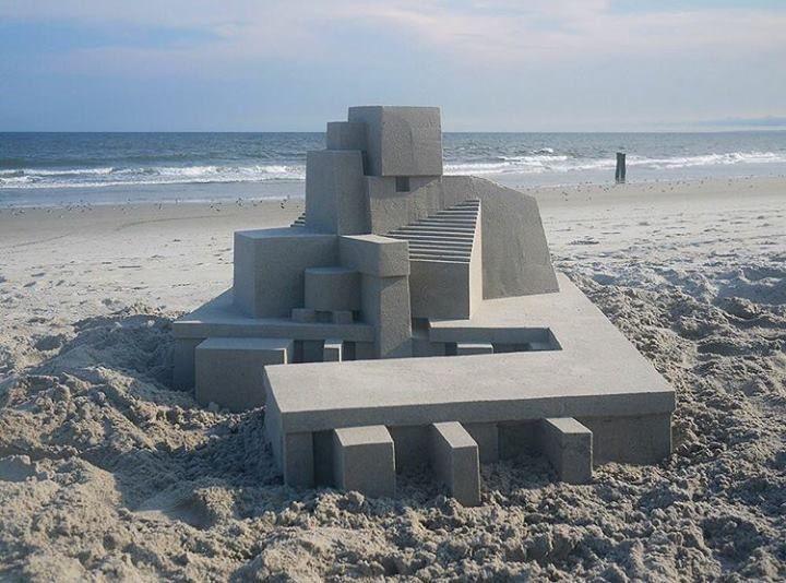 Los castillos de arena