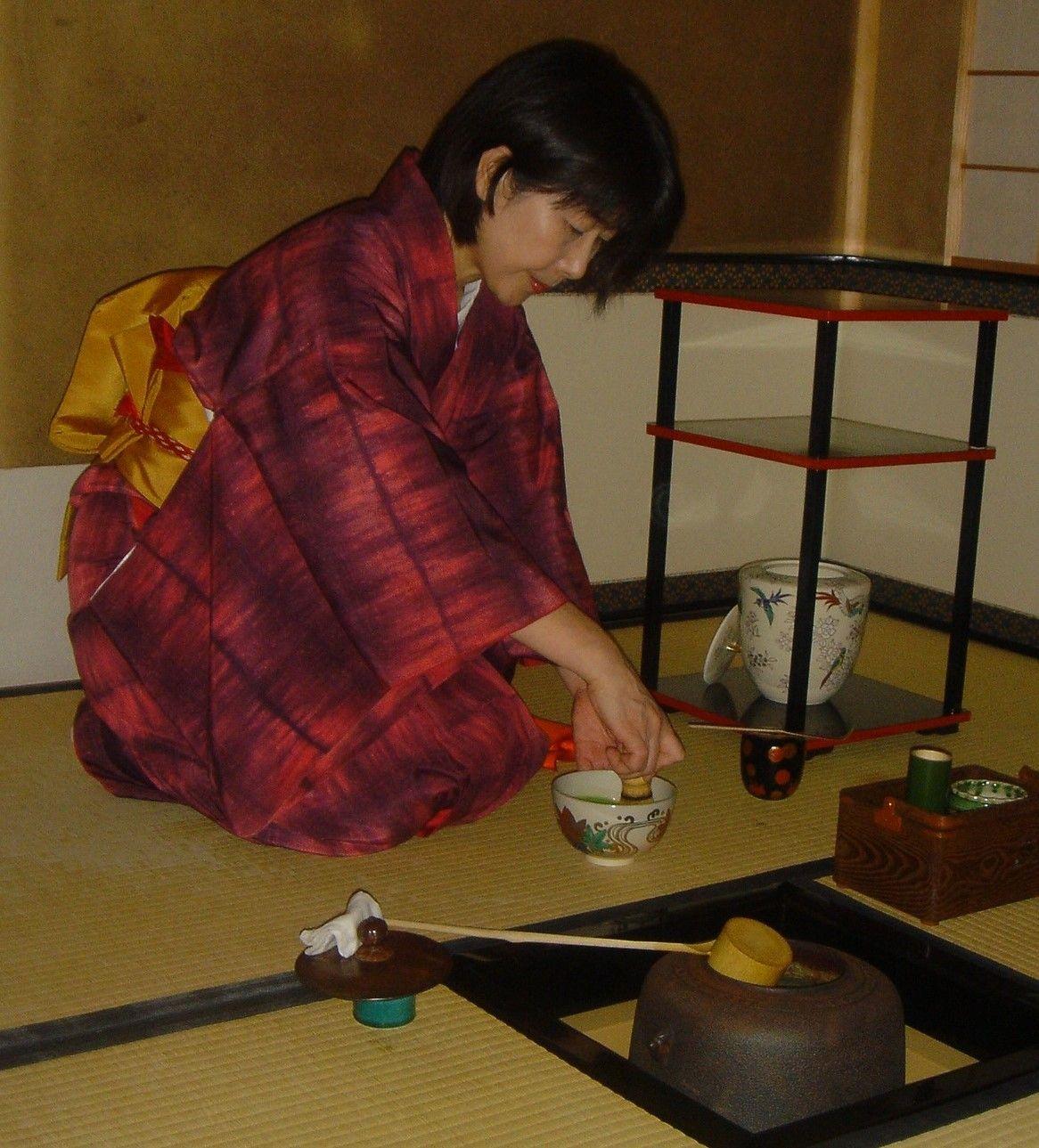 Ceremonia del té (Kioto)