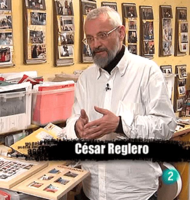 César Reglero, poeta visual