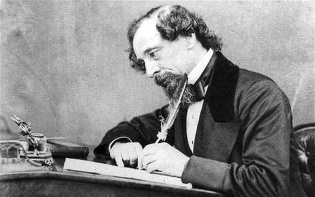 Charles Dickens, escritor, consejos