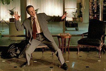 Weapon of Choice con Christopher Walken bailando para Fatboy, 2001