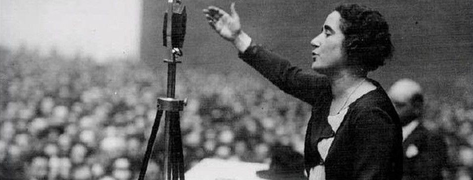 Discurso de Clara Campoamor en las Cortes de la II República el 1 octubre de 1931 por el derecho de voto de las mujeres