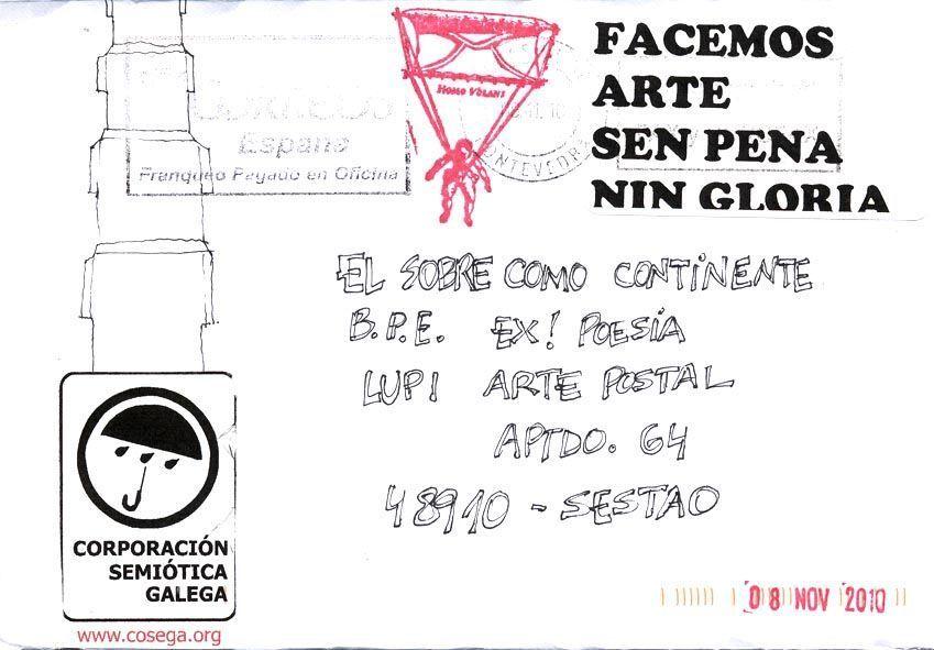 Corporación Semiótica Galega (Ad Hoc), poeta visual