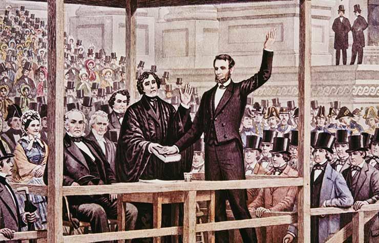 Discurso de juramento y toma de posesión de Abraham Lincoln de 1861