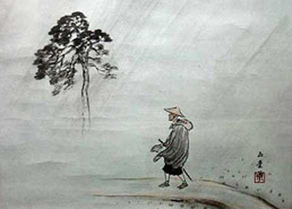 Daigu Ryokan, poeta, Niigata, Japón (1758-1831)