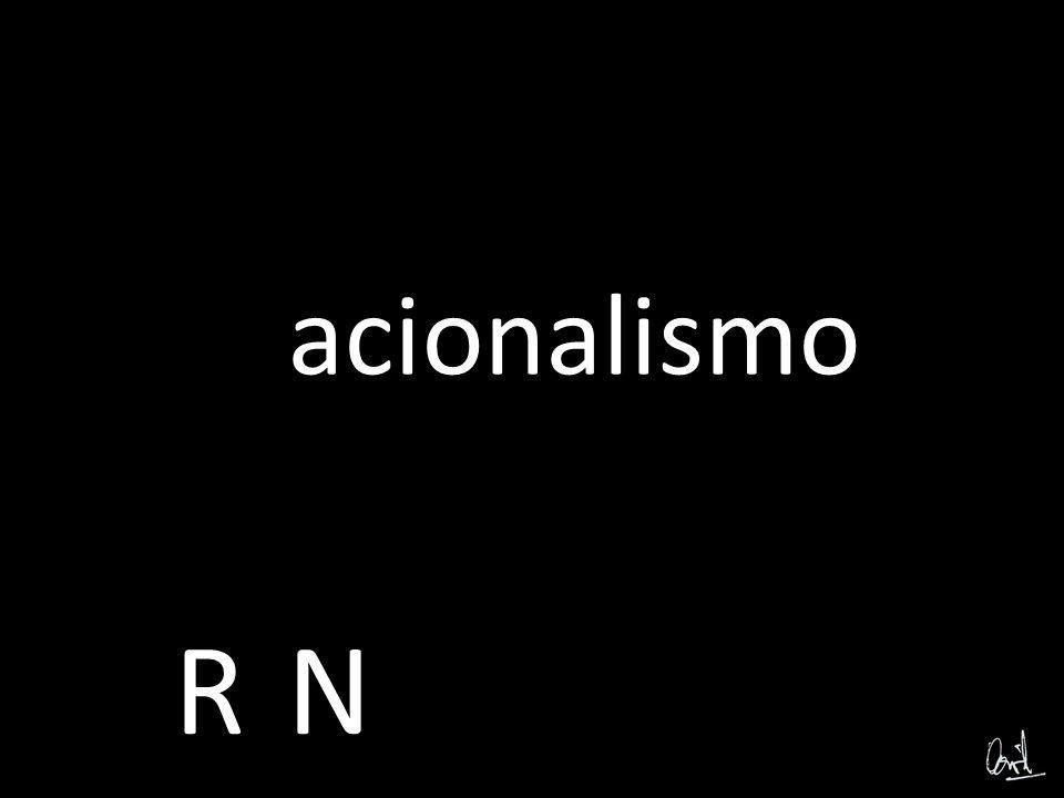 ó A ó B: Fotomontaje, Caligrama Racionalismo-Nacionalismo