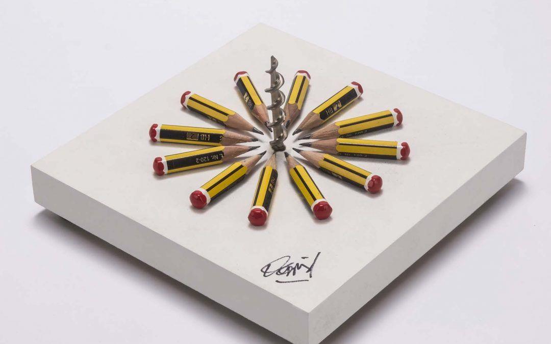 Apunten, disparen, ¡fuego!, poesía visual