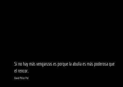 Aforismo nº 100 de David Pérez Pol