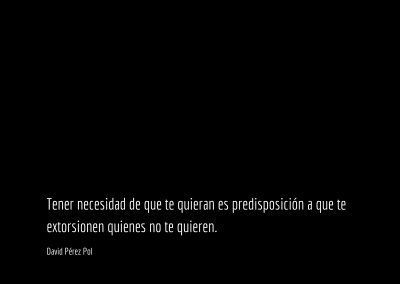 Aforismo nº 217 de David Pérez Pol