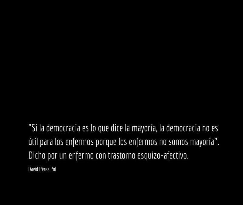 Si la democracia es
