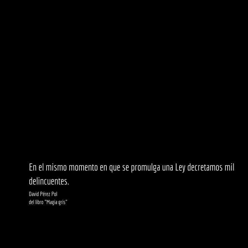 El mismo momento Aforismo nº 65 de Magia gris de David Pérez Pol