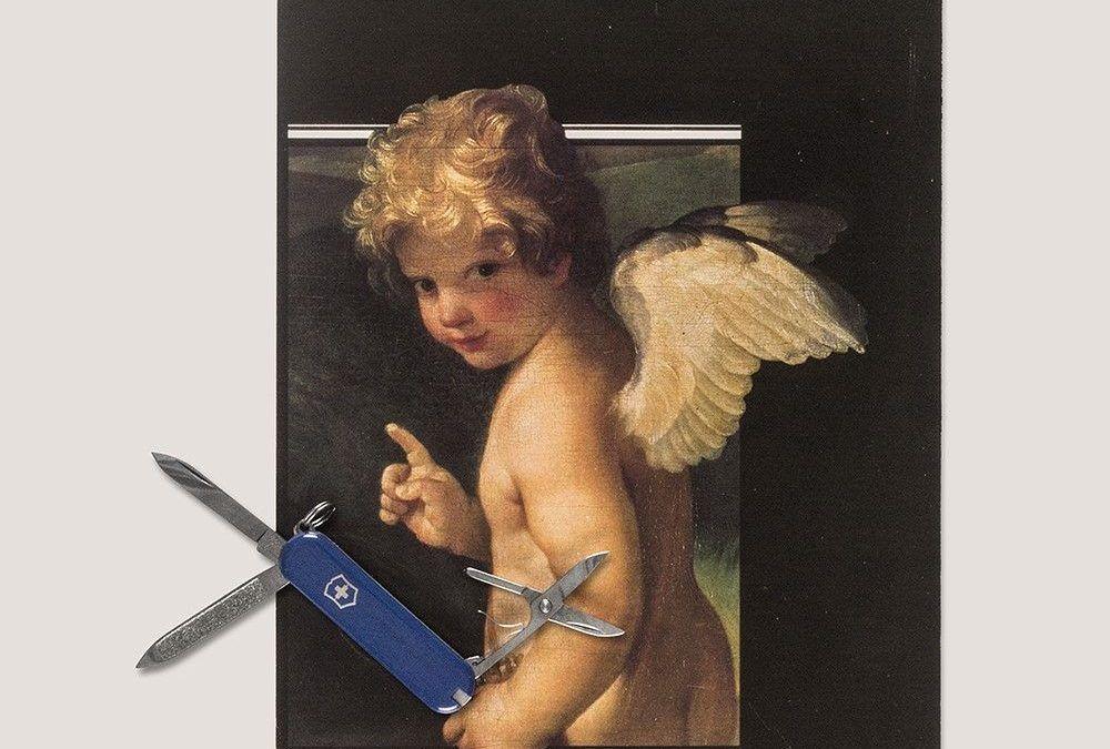 Ángel de la Guarda, poesía visual