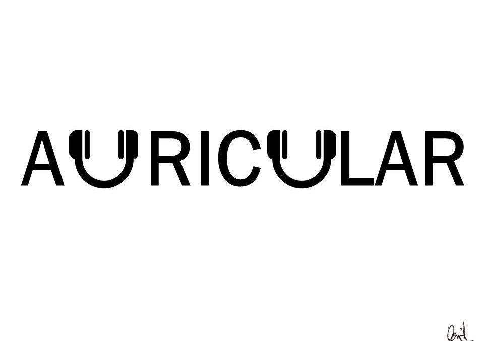 Auricular, caligrama