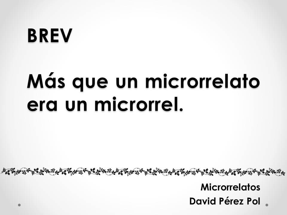Brev Microrrelato nº 4 de David Pérez Pol