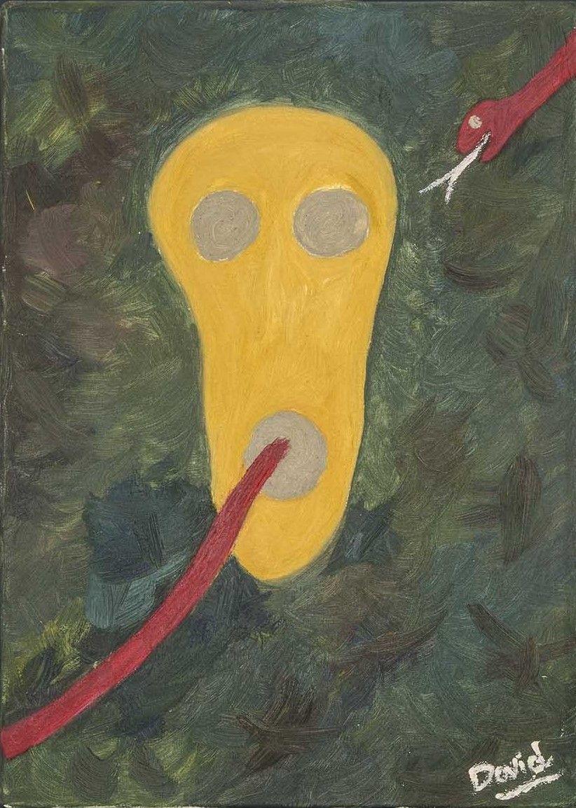 Calavera (pintura al óleo)