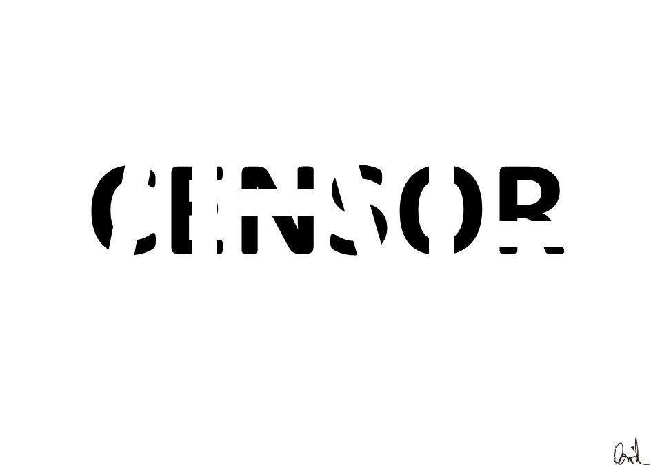 Censor, caligrama