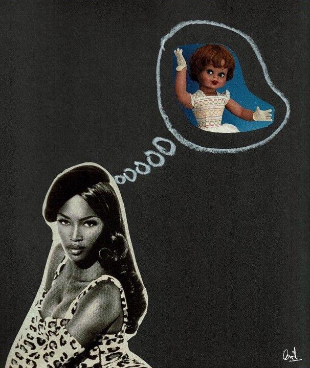 La vida es sueño Collage nº 7 de David Pérez Pol