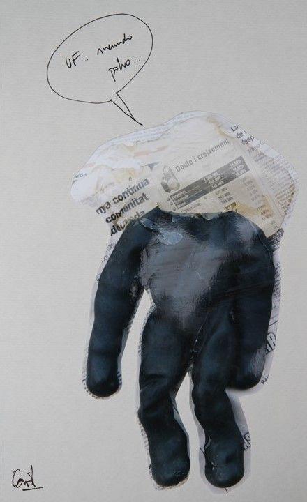 Ufff menudo polvo Collage nº 8 de David Pérez Pol