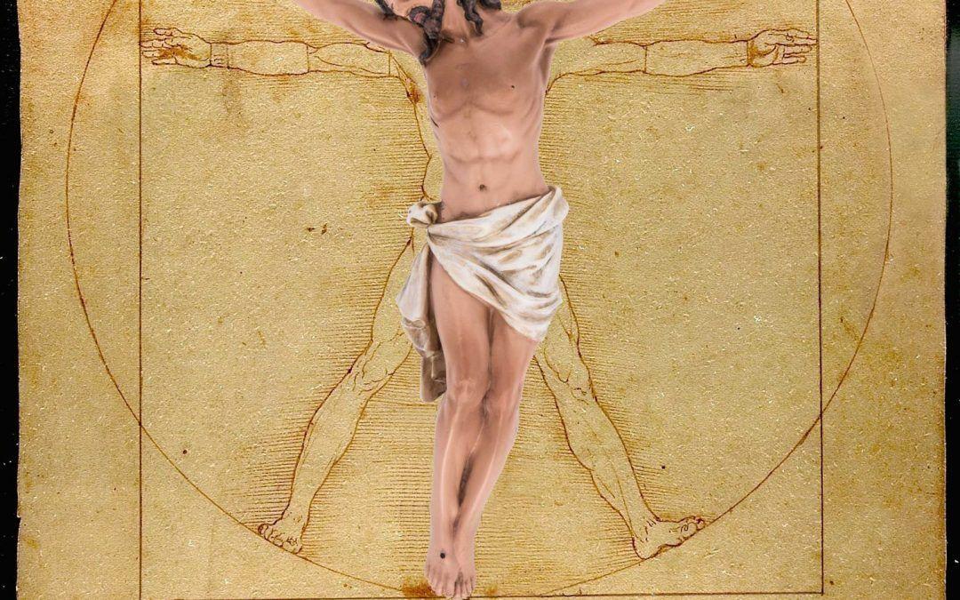 Cristo de Vitruvio, poema visual