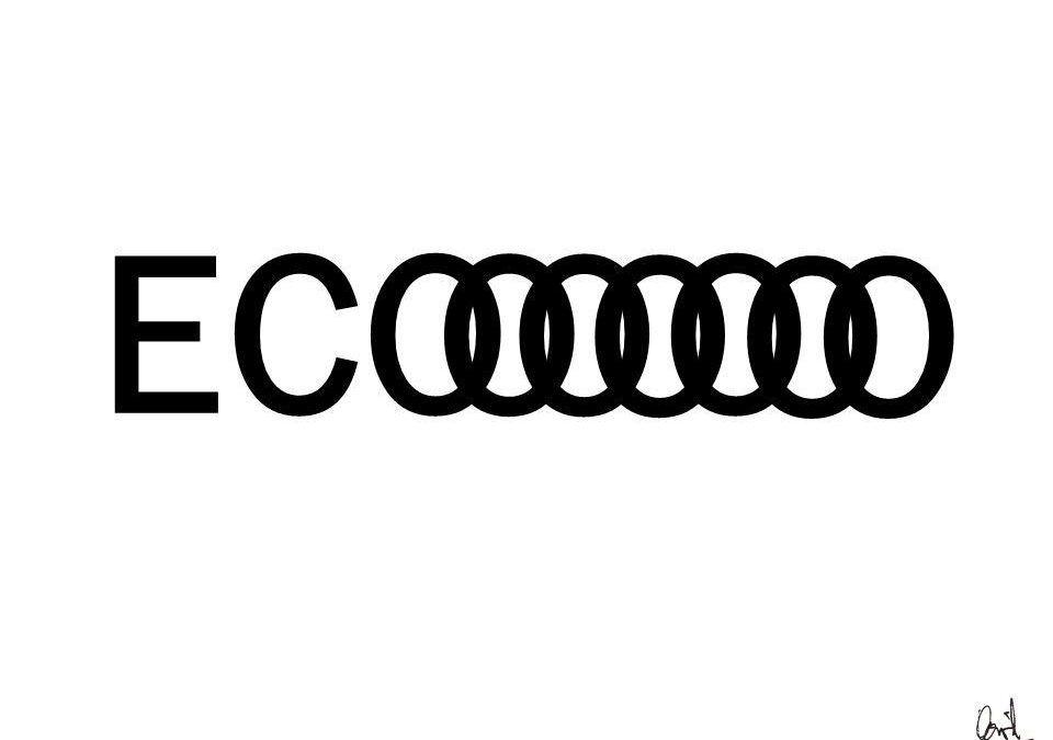 Eco, caligrama