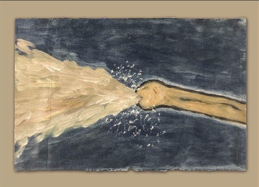 Eyaculacion atroz (pintura al óleo)