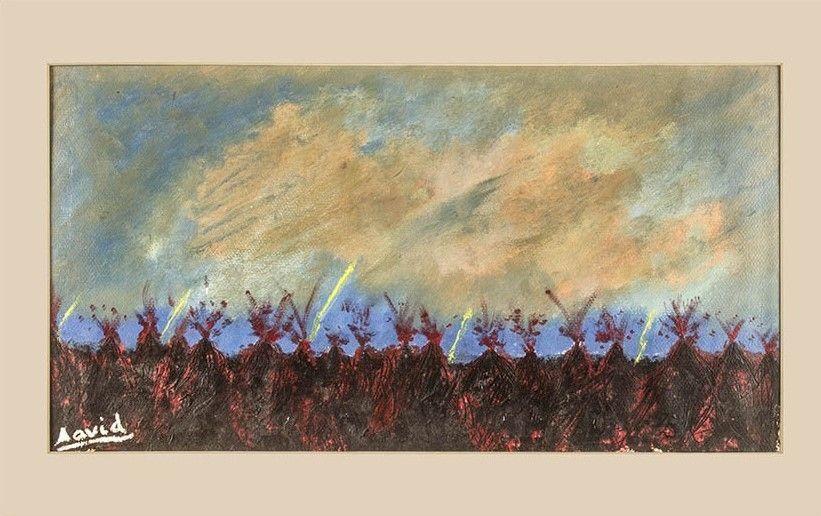 Fin del mundo (pintura al óleo)