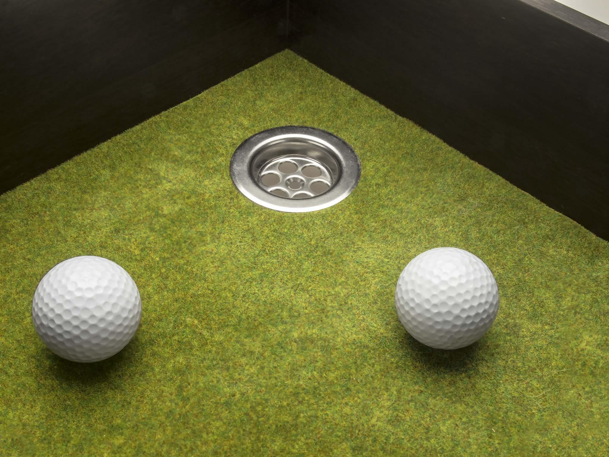 El golf de la crisis (Poema Visual)