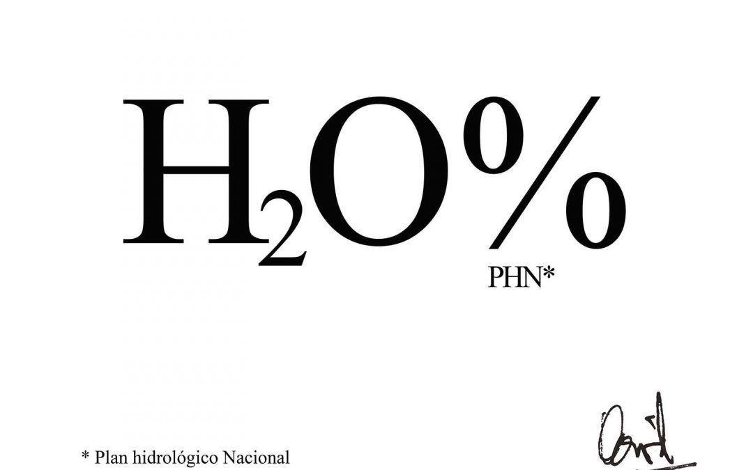 H2O%, caligrama