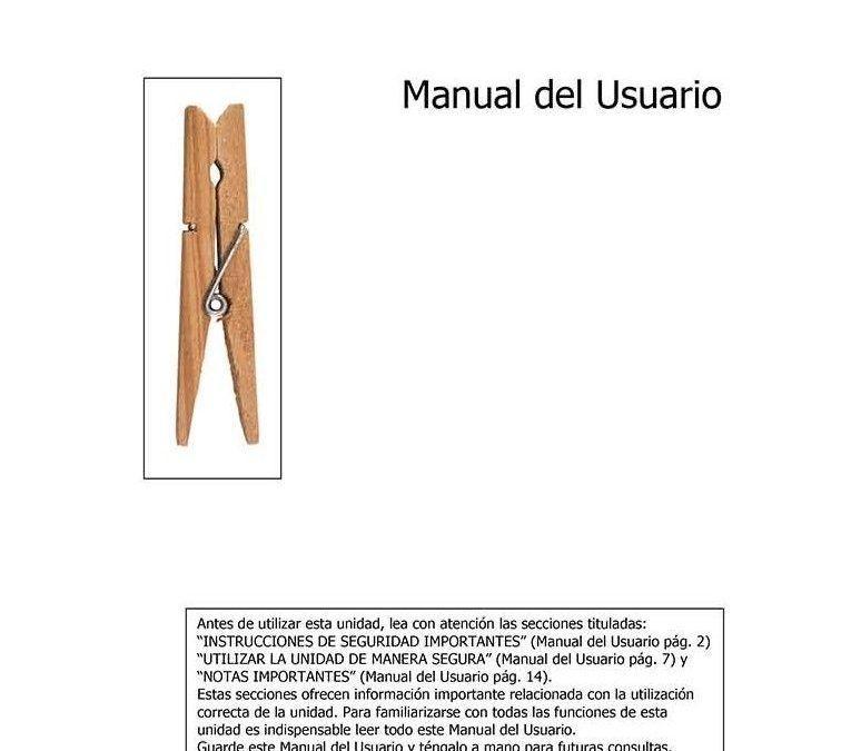 Manual del Usuario, poesía visual