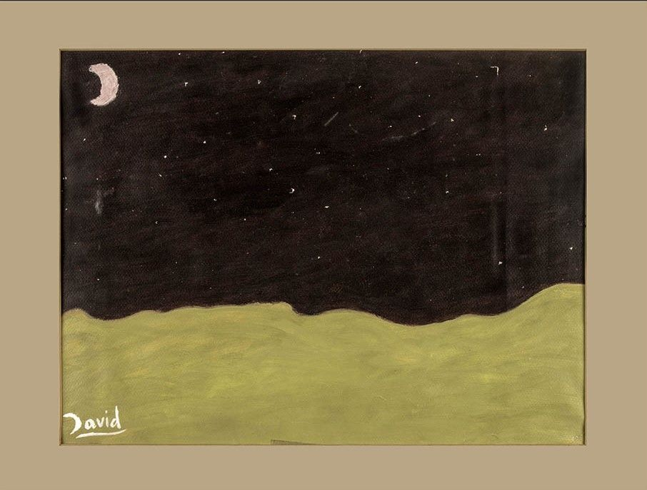 Noche (pintura al óleo)