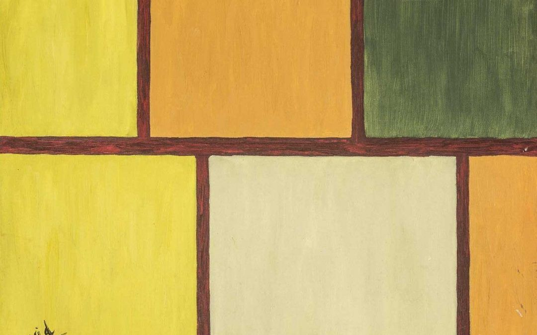 Paisaje Mondriano