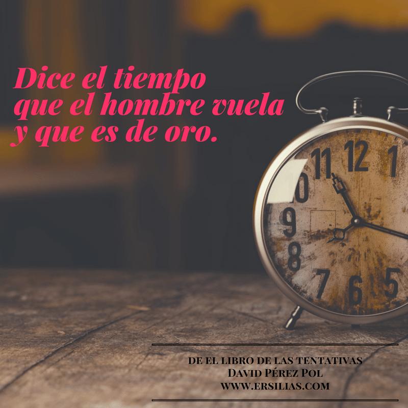 Dice el tiempo de David Pérez Pol