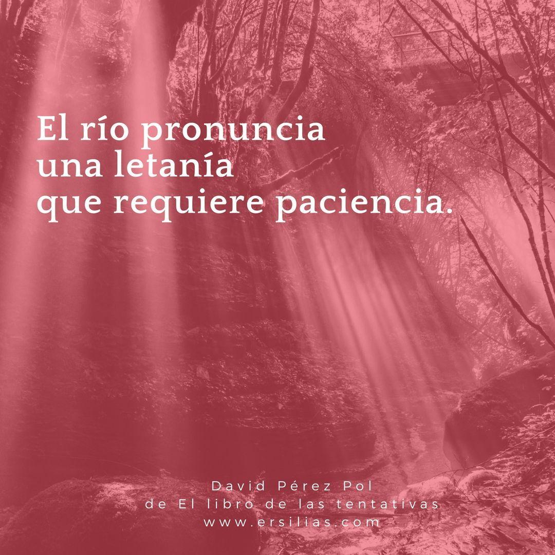 El río pronuncia de David Pérez Pol