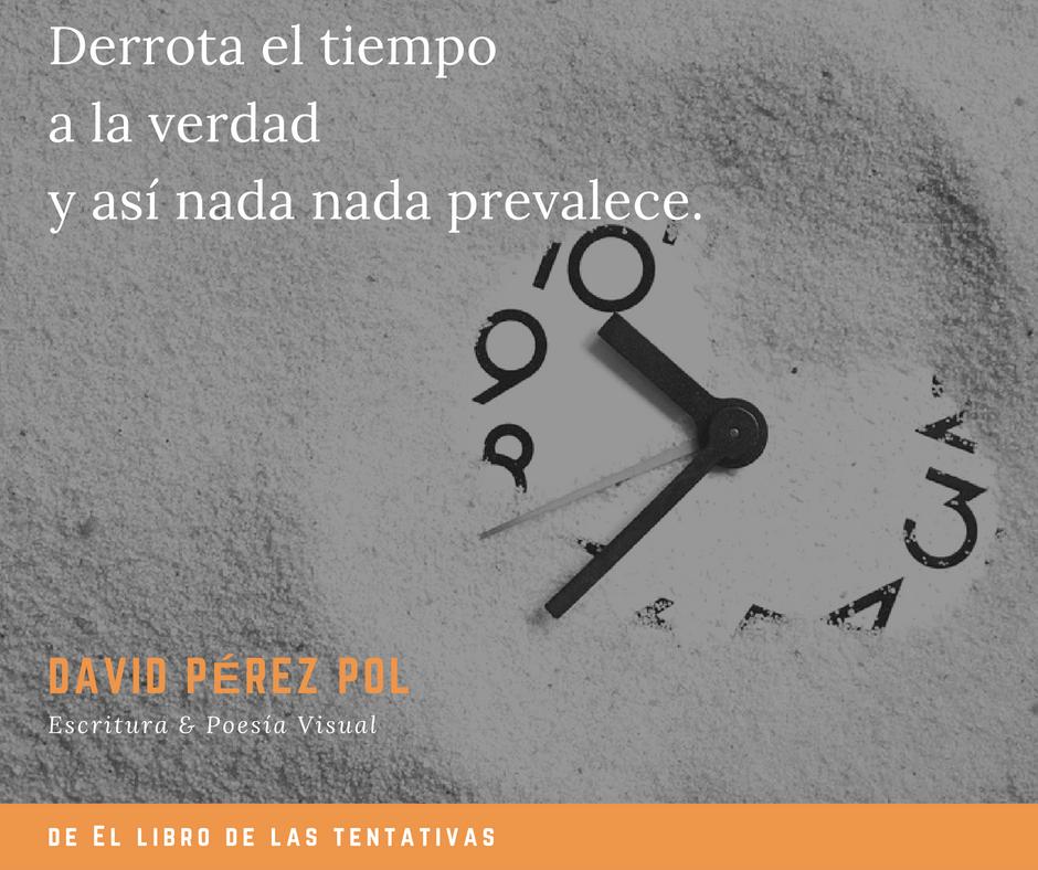 Derrota el tiempo de David Pérez Pol
