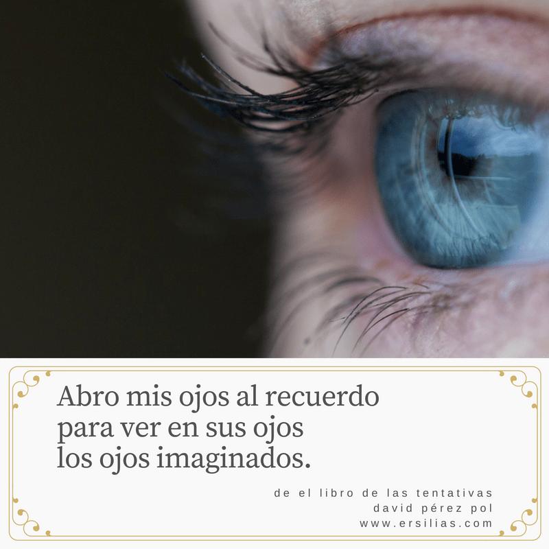 Abro mis ojos al recuerdo de David Pérez Pol