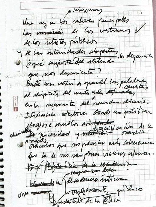 Texto manuscrito nº 12